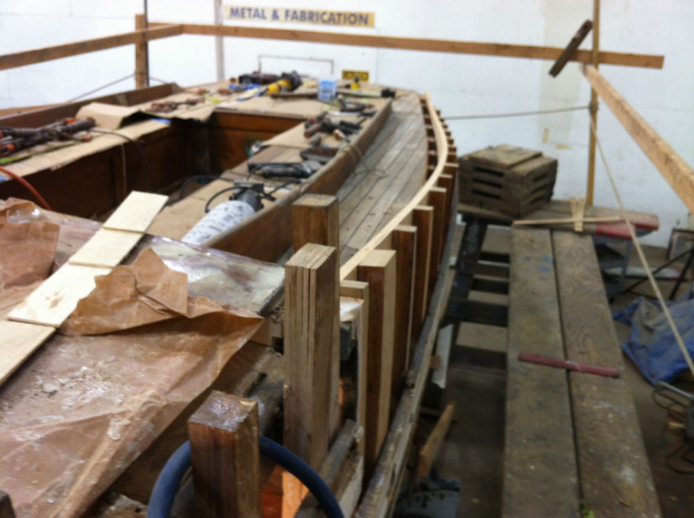 11 KKMI Premier Boat Yard Wooden Boat Restoration Rebuild and Repair