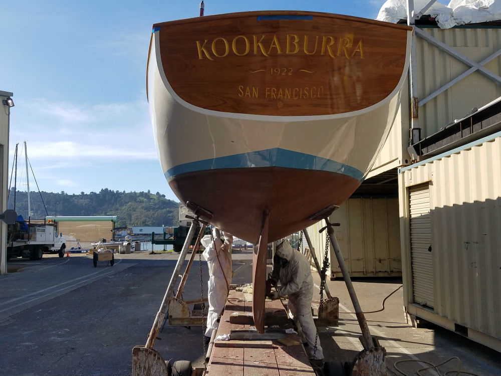 25 KKMI Premier Boat Yard Wooden Boat Restoration Rebuild and Repair