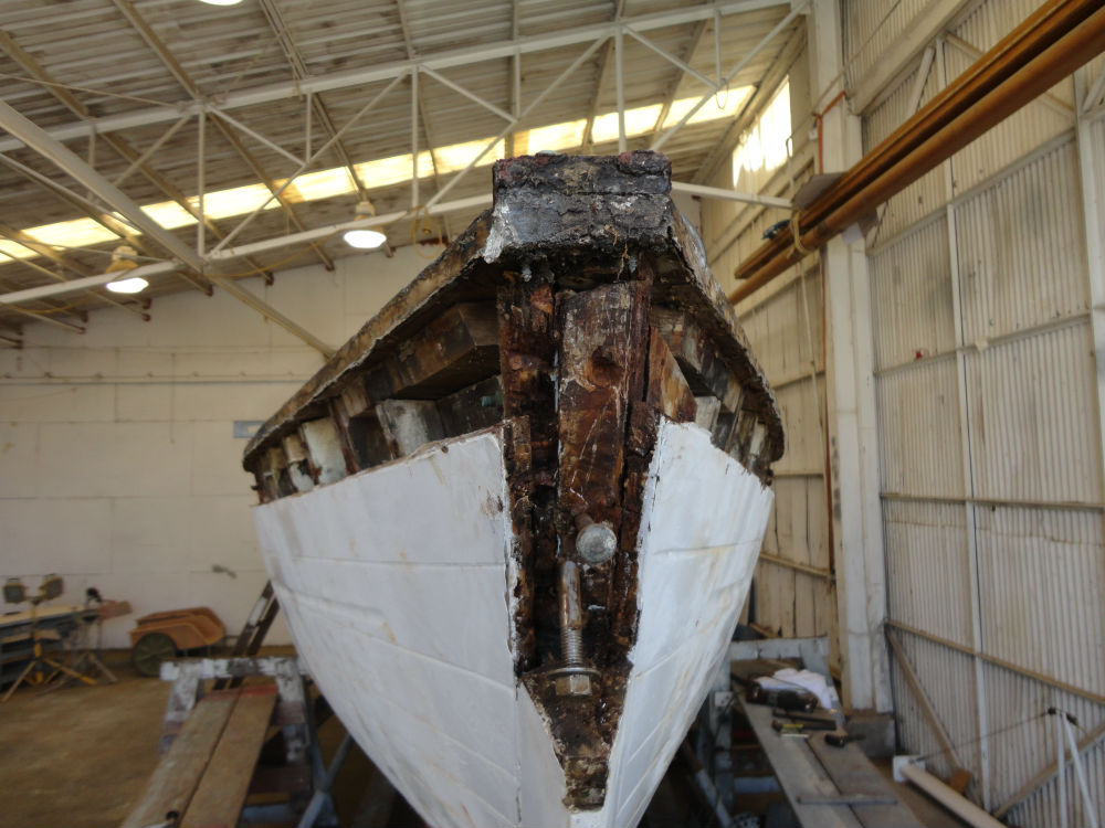 5 KKMI Premier Boat Yard Wooden Boat Restoration Rebuild and Repair