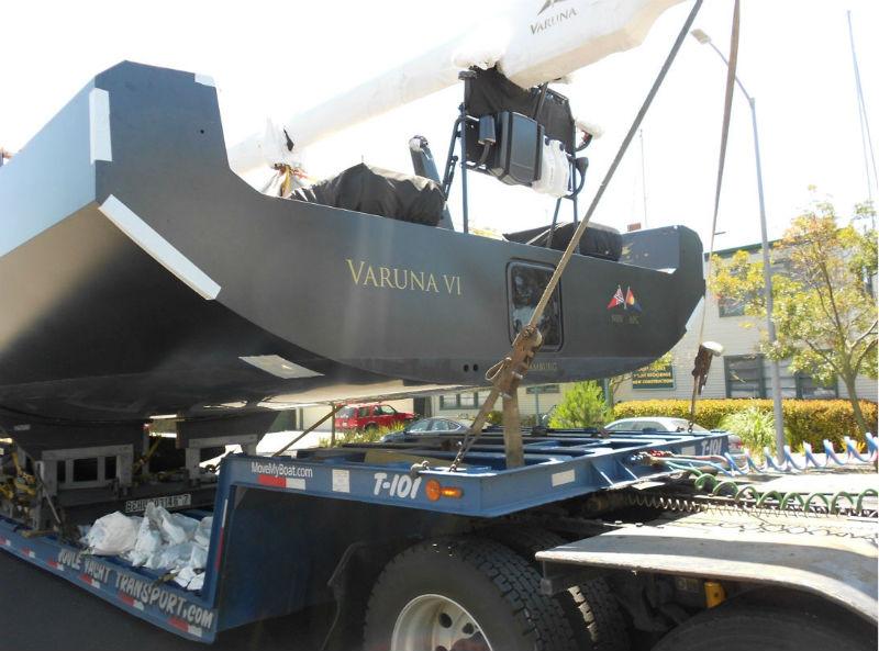 KKMI PRemier Boat Yard Boat Lift Boat Truck