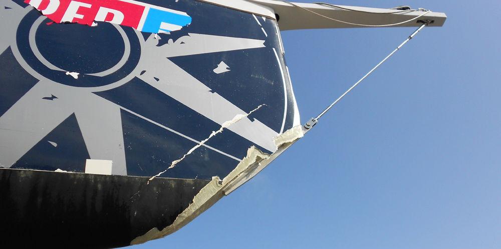 KKMI Premier Bay Area Boatyard Gelcoat Repair 1