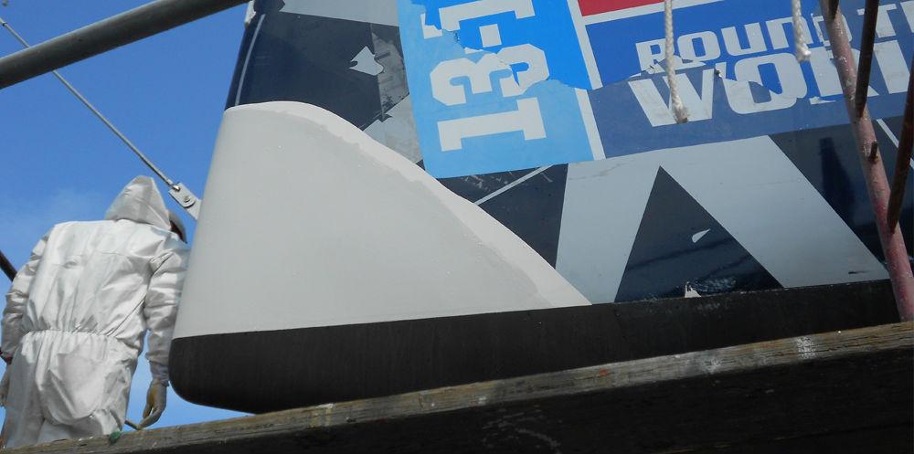 KKMI Premier Bay Area Boatyard Gelcoat Repair 3