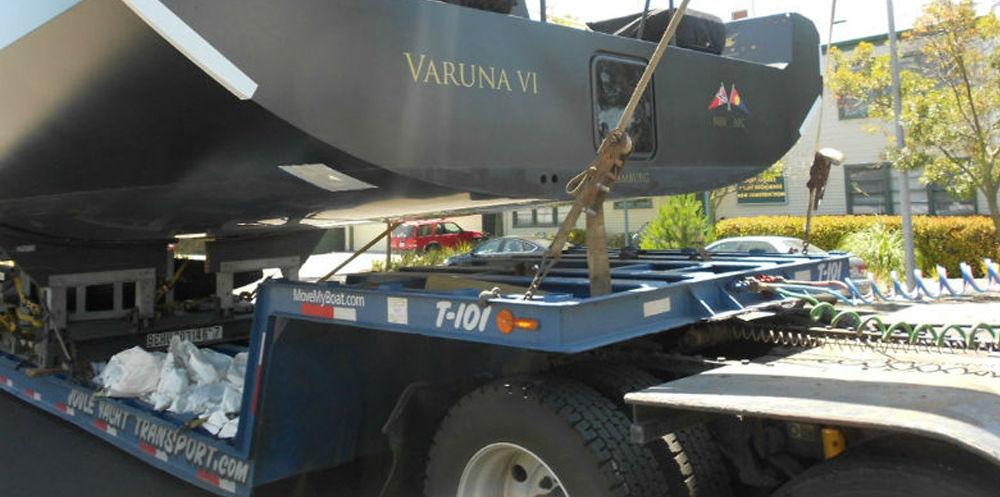 KKMI Premier Bay Area Boatyard Loadout Offload