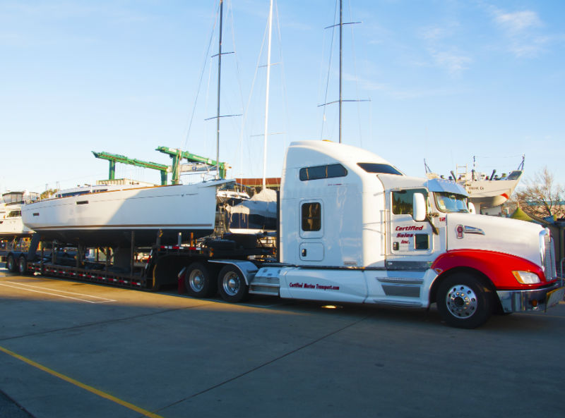 KKMI Premier Boat Yard Boat Hauling Boat Haul Out Boat Trucking