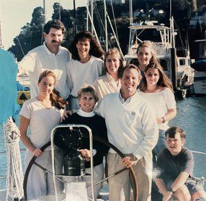 Original photo of Ken Keefe and Paul Kaplan's families